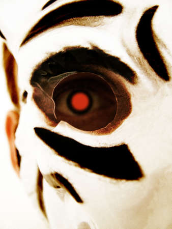 White tiger mask Stock Photo - 377778