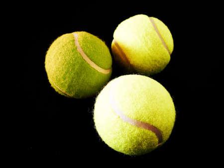 Three Tennis Balls photo