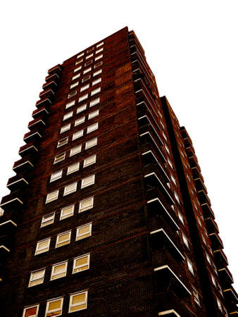 cramped: high rise flats