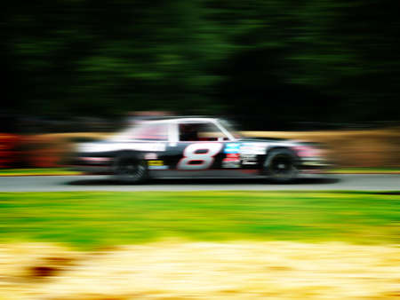undefined: car race Stock Photo