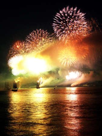 Trafalgar Feuerwerk 200. Fest