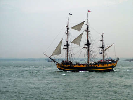 Tall sail Ship photo
