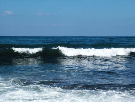 ocean waves Stock Photo