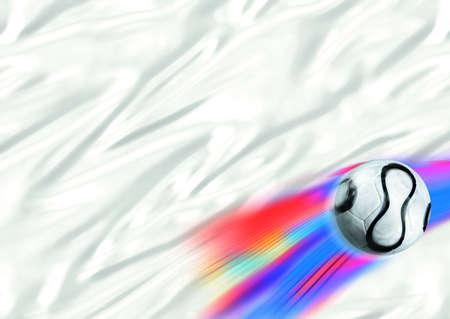 White world cup flag photo