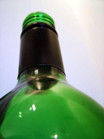 anti racist: Wine Bottle Stock Photo