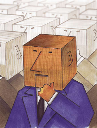 indecisive: block head