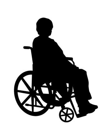 reserved seat: wheelchair Stock Photo
