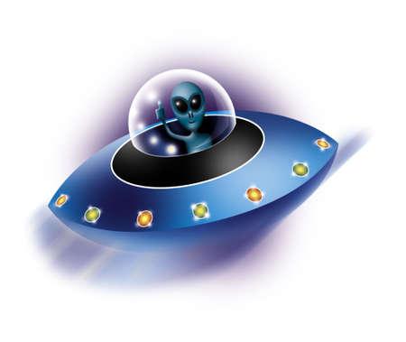 levitating: ufo