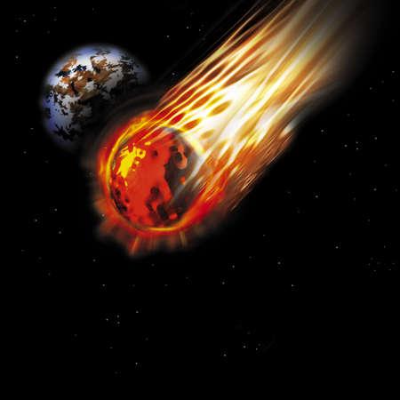 asteroid Stock Photo - 546215