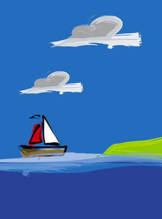 sailing boat Stock Photo - 622215