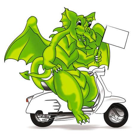 frightful: dragon