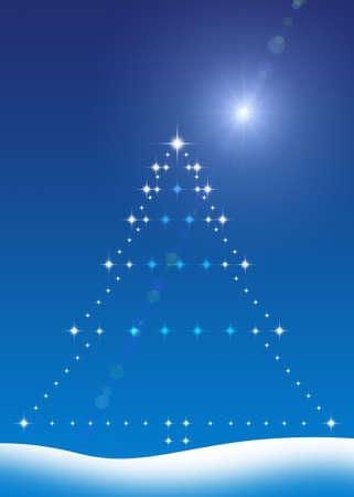 sean gladwell: Albero di Natale  Archivio Fotografico