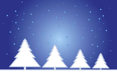 Christmas trees Stock Photo - 630860