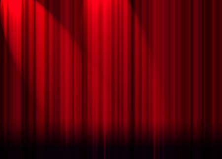 letras musicales: Cortina roja