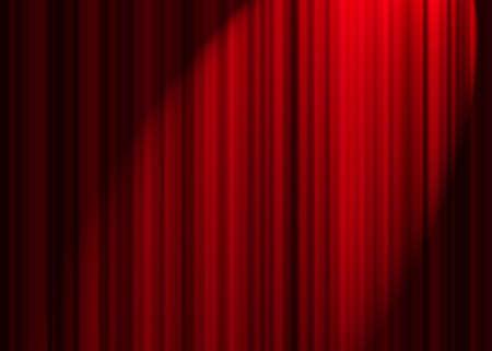 letras musicales: Red cortina  Foto de archivo