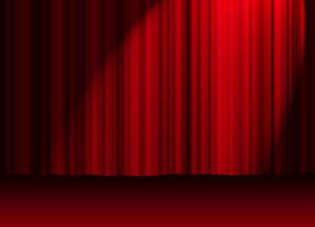 letras musica: Red cortina  Foto de archivo