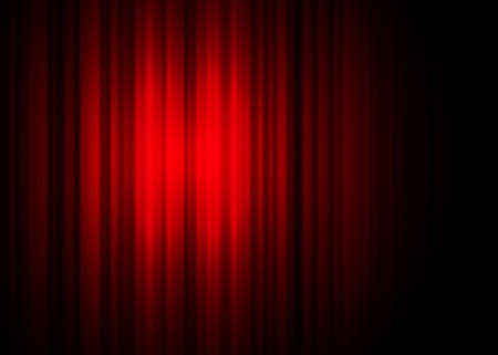 theatre curtain photo