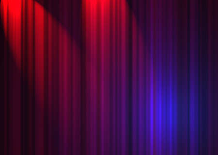 theatre curtain Stock Photo