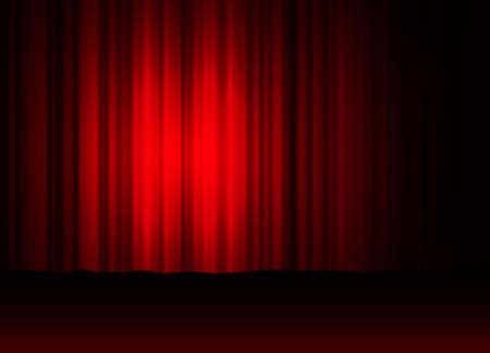 letras musicales: cortina del teatro