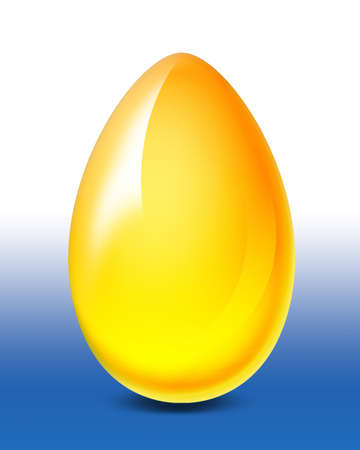 Golden Egg Stock Photo - 690539