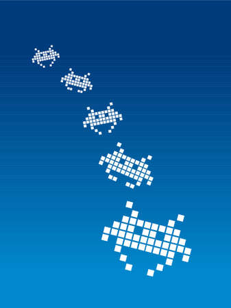 Space Invaders Stock Vector - 718258