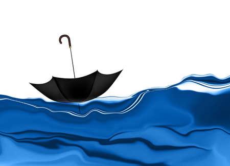 brolly: Flotaci�n del paraguas