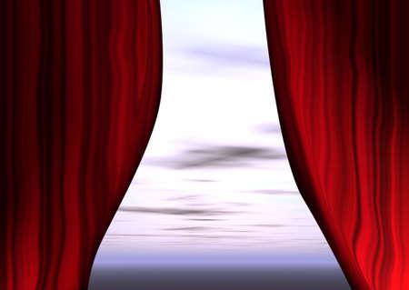 Theaterauff�hrung  Lizenzfreie Bilder
