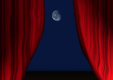 entertaining presentation: theater Stock Photo