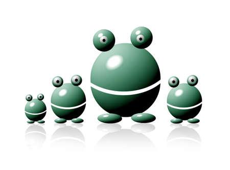 cute aliens Stock Photo - 792018