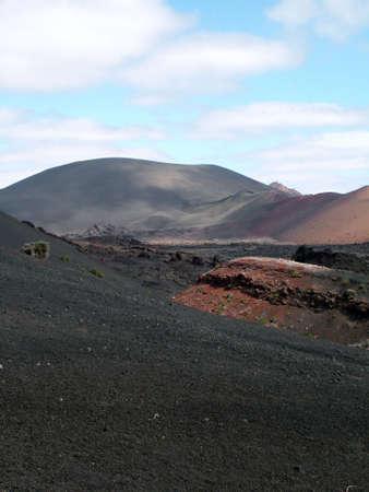solidify: volcanic landscape
