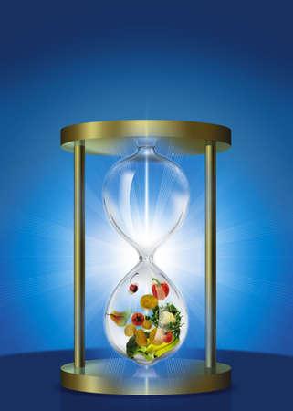 slow food: Hour Glass