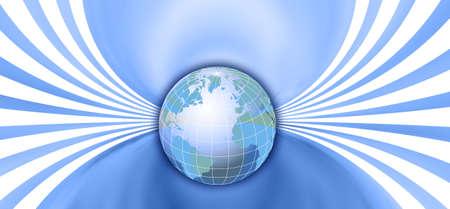 populated: Globe
