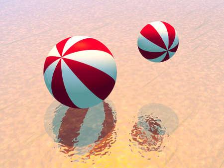 Beachballs Stock Photo - 1051692