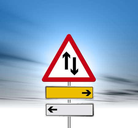 obey: Suscribirse carretera  Foto de archivo