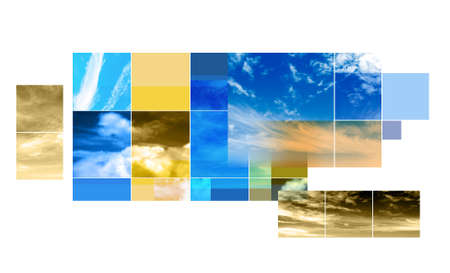 skys: Sky Montage background design