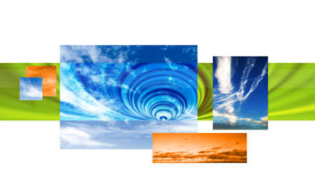 skys: abstract sky background Stock Photo