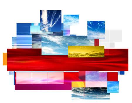 skys: Sky Montage background design