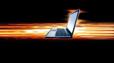hi speed: Laptop