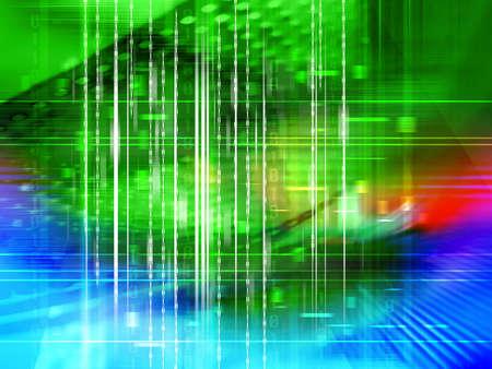 Data Background photo