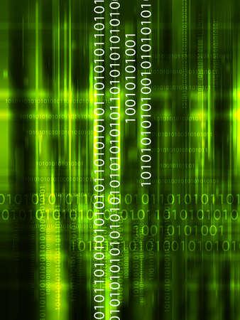 basic: Computer Data                         Stock Photo