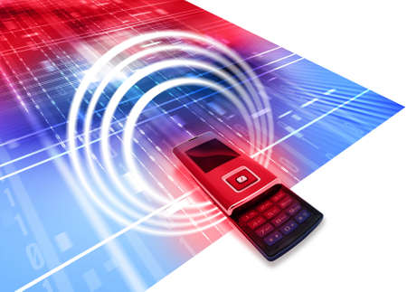 mobilephones: Cell phone Stock Photo