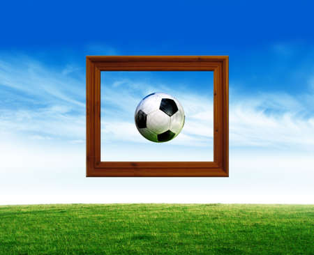 Art of Football Stock Photo - 2048197