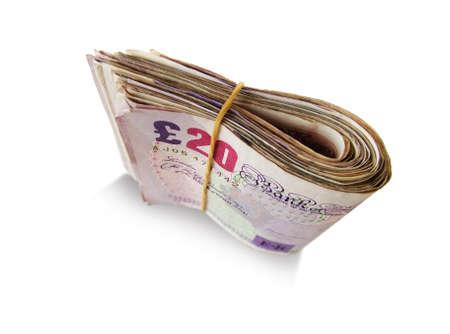 UK Banknotes Stock Photo - 2434325
