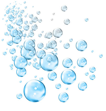 soapy water: Bubbles