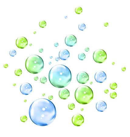 burbujas de jabon: Burbujas