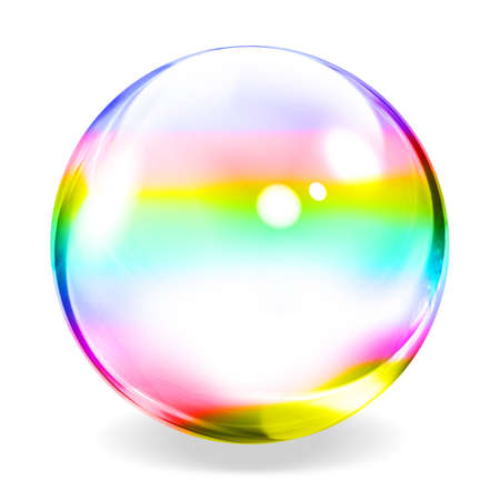 refraction: Transparent Sphere
