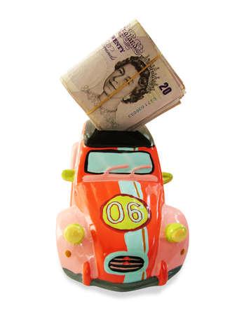moneybox: New car
