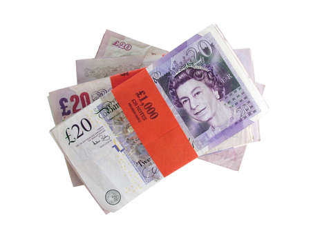 money pounds: UK Currency Stock Photo