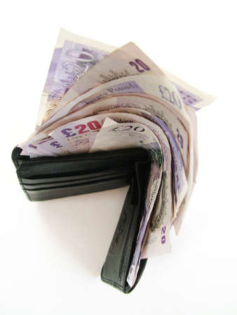 pounds money: Dinero billetera
