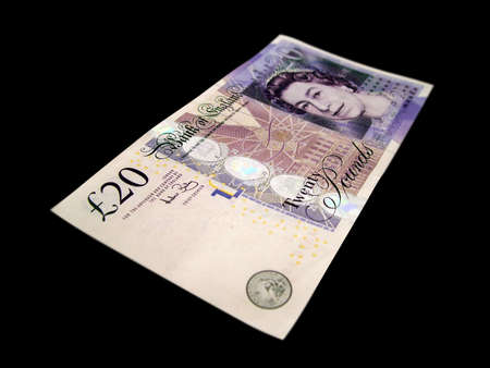loot: 20 pound note